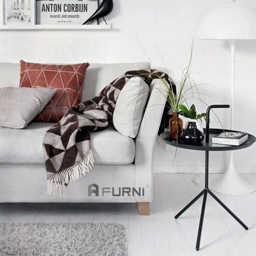 Bàn sofa góc TS DLM-05 thép sơn tĩnh điện giá rẻ HCM