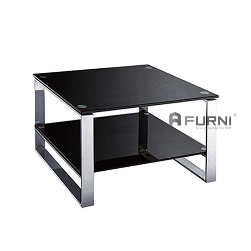 bàn sofa kính cường lực vuông nhỏ đẹp sang trọng giá rẻ tphcm TS0902-G06