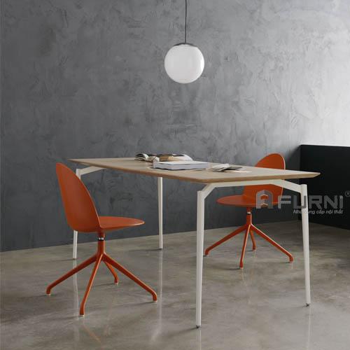 Bộ bàn ghế ăn hiện đại cao cấp nhập khẩu Ý ghế Camel và bàn Cult
