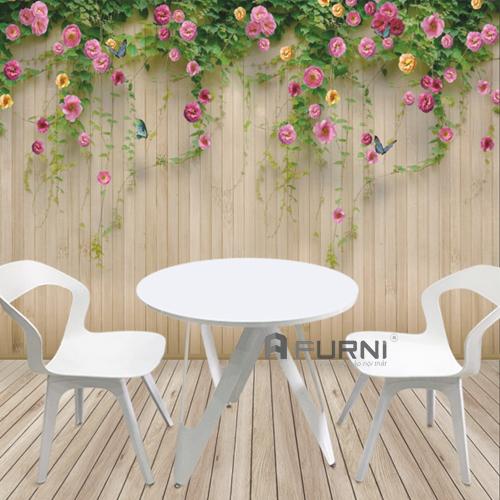 Bộ bàn ghế cafe sân vườn đẹp bền thoải mái kiểu mới tphcm CF VICTORY BEE