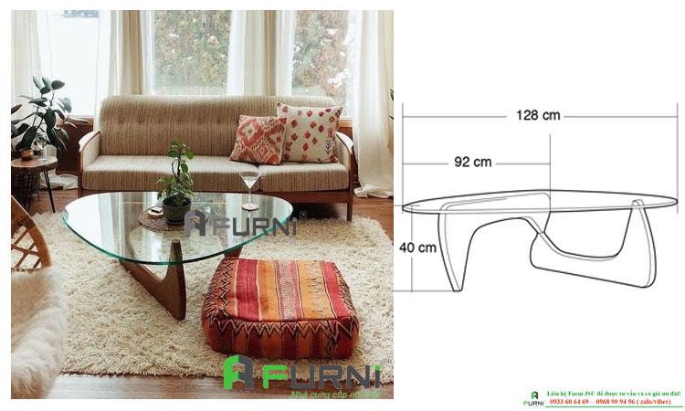 Bàn trà bàn sofa NOGUCHI cao cấp nổi tiếng tại HCM