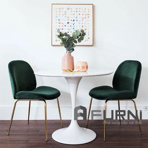 Bộ bàn ghế tiếp khách kiểu dáng mới TK TULIP BEETLE 06