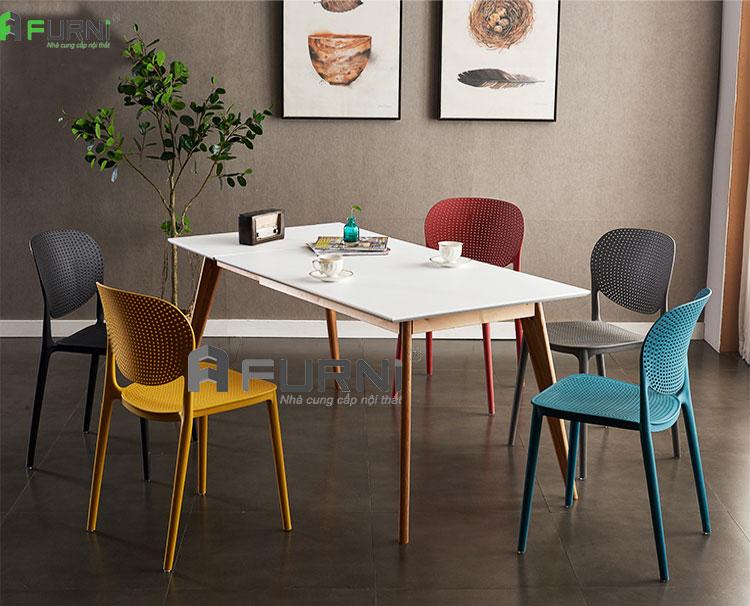 Bộ bàn ăn dành cho căn hộ mini BA LEXI CAT 12