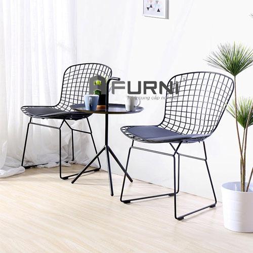 Bộ bàn ghế ban công cho chung cư căn hộ mini BT DLM HARRY
