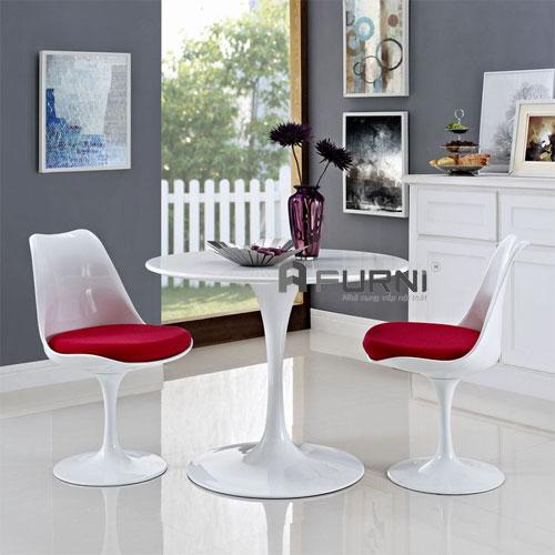 Bộ bàn ghế tiếp khách 2 ghế TK TULIP 06