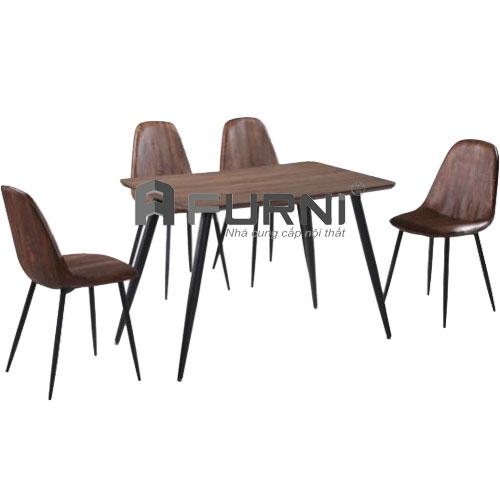 Bộ ghế ăn kiểu dáng hiện đại BA 1512 3006
