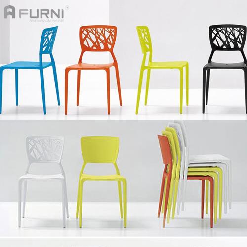 Ghế ăn nhựa xếp chồng đẹp Viento