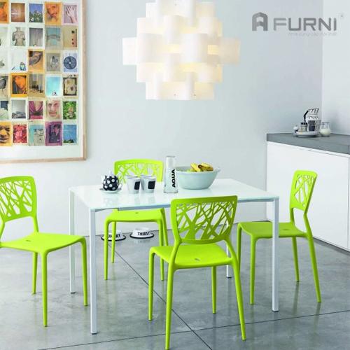 Ghế nhựa đúc Viento với gam xanh trẻ trung tươi sáng