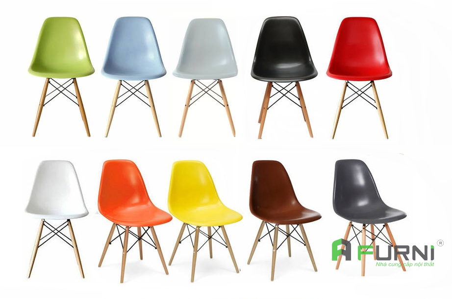 Ghế phòng ăn đẹp hiện đại giá rẻ DSW-S7 / Bảng màu