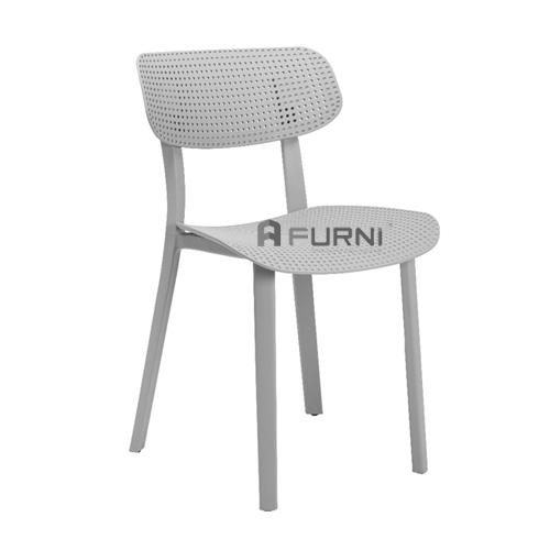 Ghế quán cafe bằng nhựa đúc kiểu mới đẹp bền hiện đại giá rẻ tphcm HOL-S