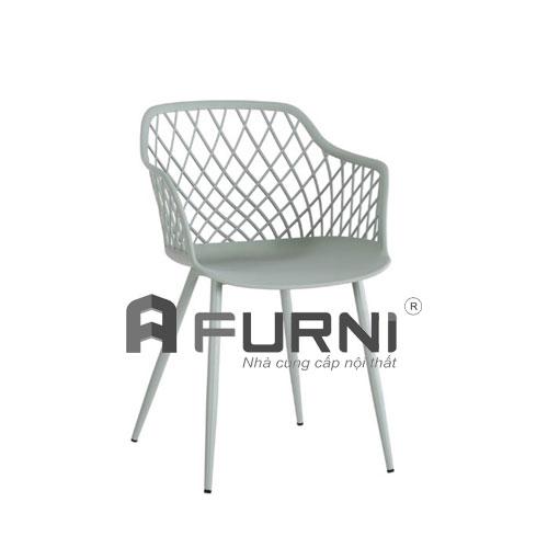 Ghế nhựa dành cho phòng ăn MESH-S màu xanh