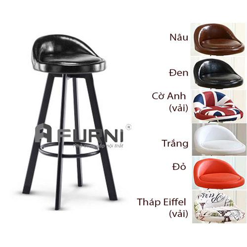 Ghế bar dành cho quầy bar và khu đảo bếp CB2137-P nhiều màu sắc giá rẻ tại HCM