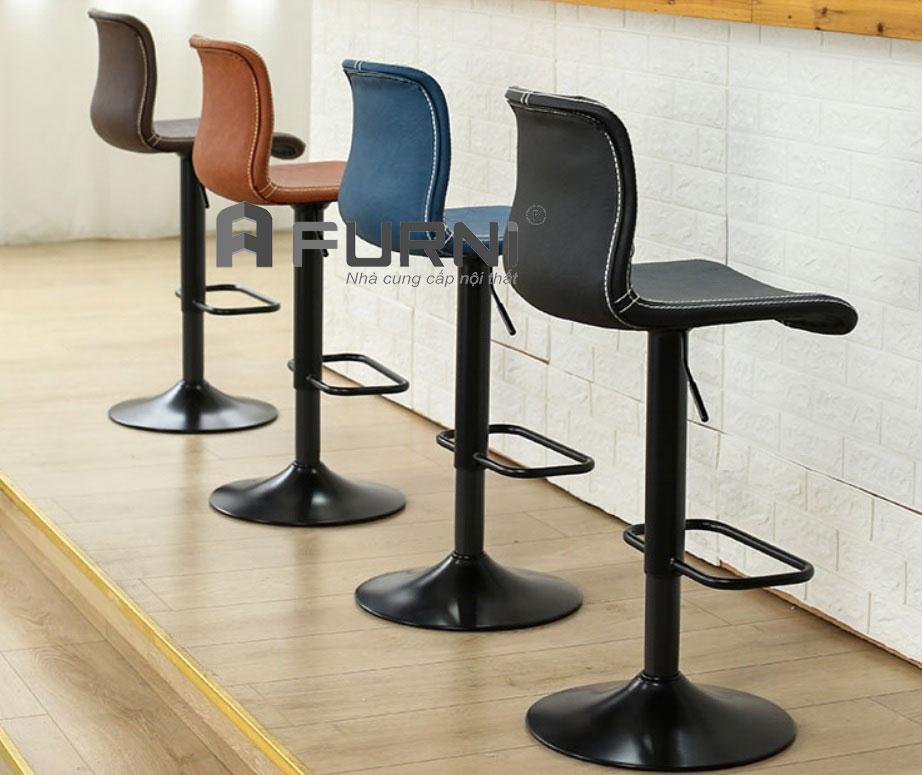 Ghế bar đảo bếp CB 2251-P nhiều màu sắc nổi bật giá rẻ HCM