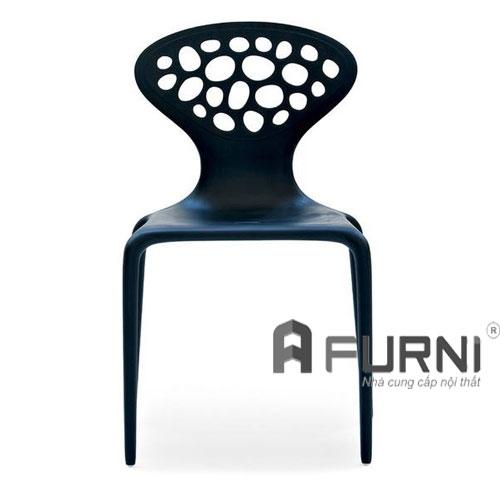 Ghế nhựa SD CC1510-S1 nhựa màu đen giá rẻ HCM