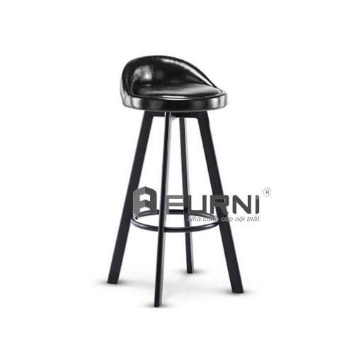 Ghế quầy bar CB 2137-P xoay 360 nệm ngồi PVC dành cho đảo bếp
