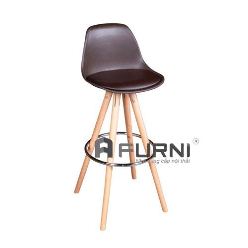 Ghế quầy bar CB 2136-P màu nâu cổ điển