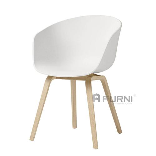 Ghế nhựa chân gỗ HAY cao cấp thường được sử dụng cho bàn ghế ăn