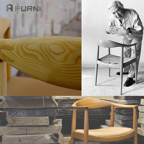 Ghế Kennedy là tác phẩm nổi tiểng của nhà thiết kế Han J. Wegner