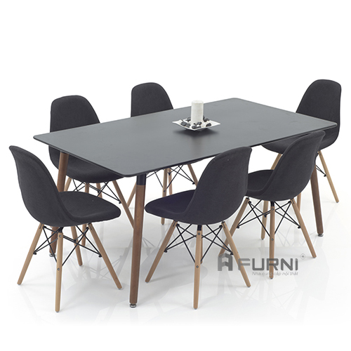 Bộ bàn ghế ăn đẹp hiện đại ( ghế DSW-S7)