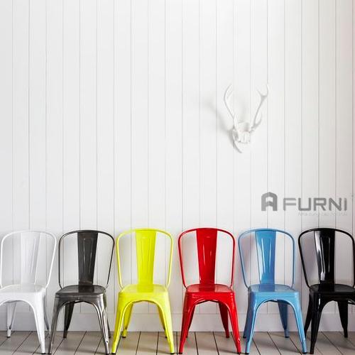 Ghế thép sơn tĩnh điện TOLIX A có nhiều gam màu đẹp