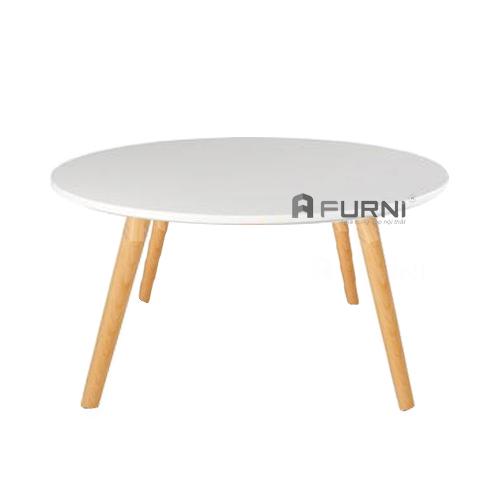 bàn sofa đẹp bằng gỗ tròn 600 TPHCM TS0922-06