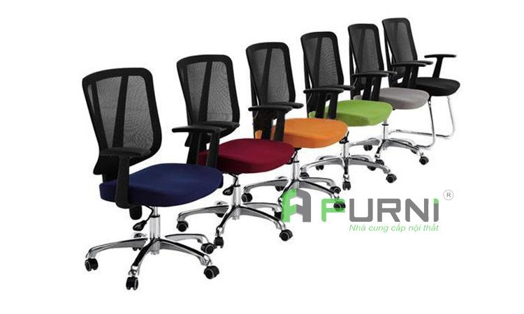 Ghế nhân viên văn phòng - Ghế nhân viên bền đẹp giá rẻ TPHCM