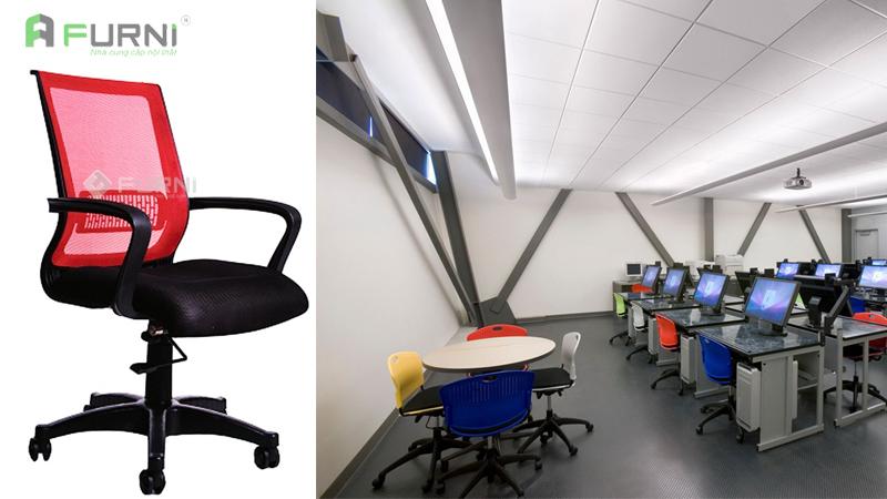 Tìm mua ghế lưới văn phòng bền, đẹp, giá rẻ cho học sinh, sinh viên các trường đại học, cao đẳng tại TPHCM.