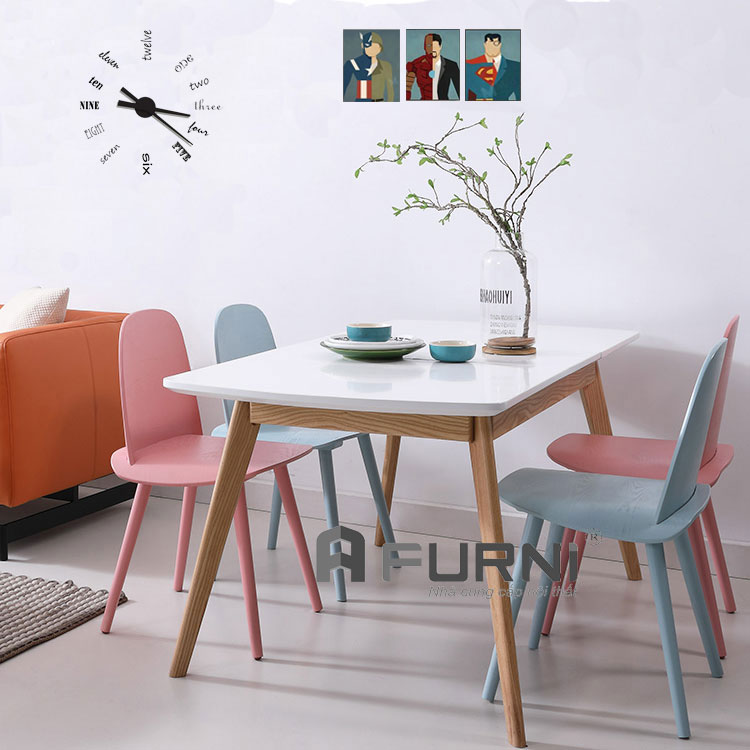 Bộ bàn ghế BA LEXI NERD 08 màu sắc nổi bật cho căn hộ nhà bạn