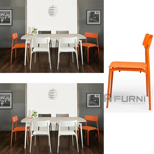 Bộ bàn ghế ăn đơn giản hiện đại đẹp giá rẻ cult