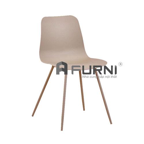 Ghế ăn CC3004 màu nâu phong cách mang nét cổ điển tại HCM