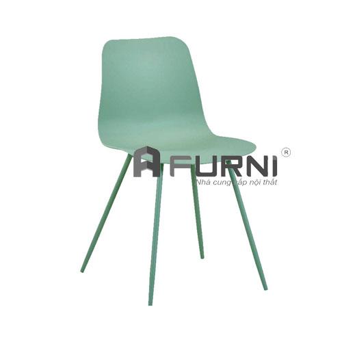 Ghế ăn hiện đại màu xanh pastel
