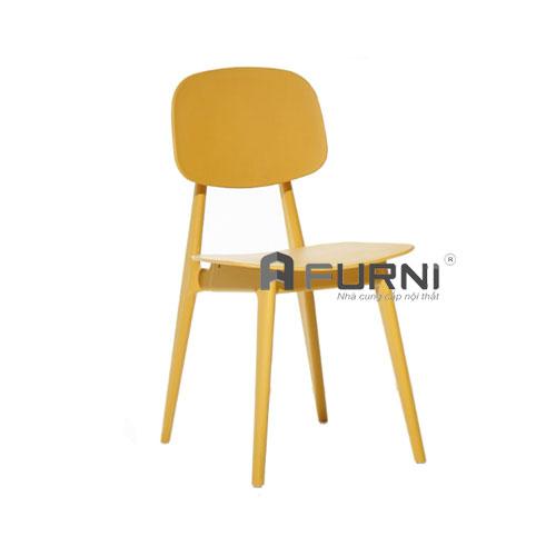 Ghế ăn nhựa PP màu vàng hiện đại tại HCM