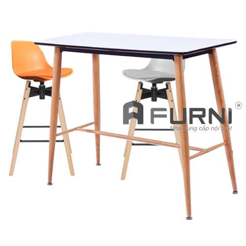 Bộ bàn ghế bar dài 1m2