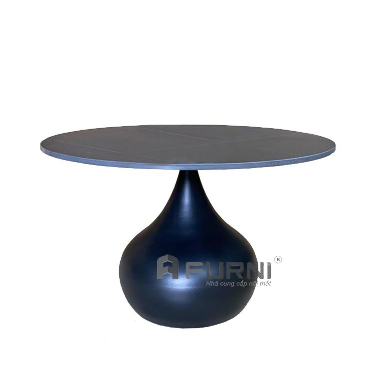 Bàn trà sofa mặt đá tròn 60