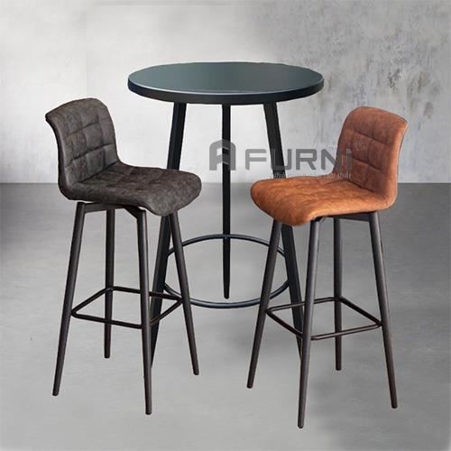 Bộ bàn ghế bar chân cố định