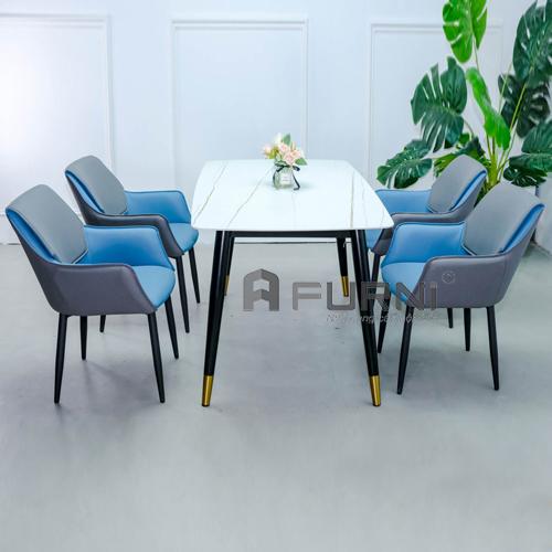 Bộ bàn ghế ăn nhập khẩu 1m4