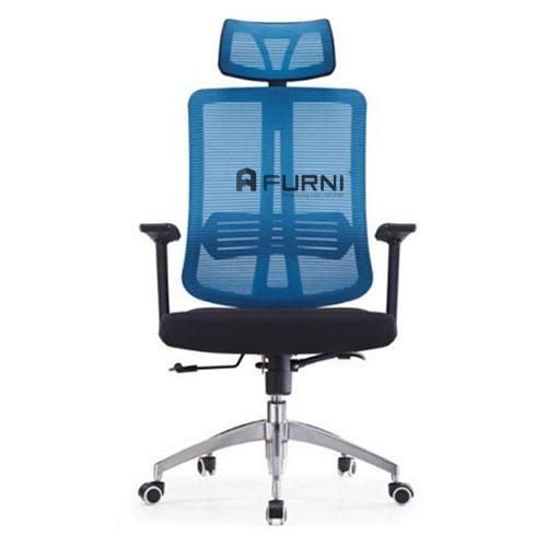 Ghế văn phòng chân xoay lưng cao