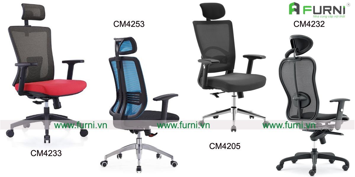 Mẫu ghế văn phòng hiện đại dành cho Giám đốc, quản lý