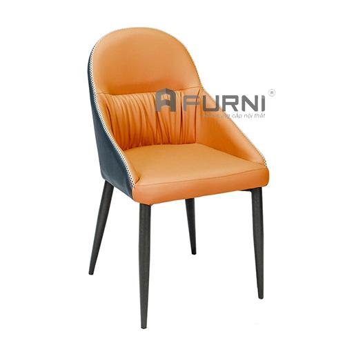 Ghế ăn nệm PVC dày chân sắt