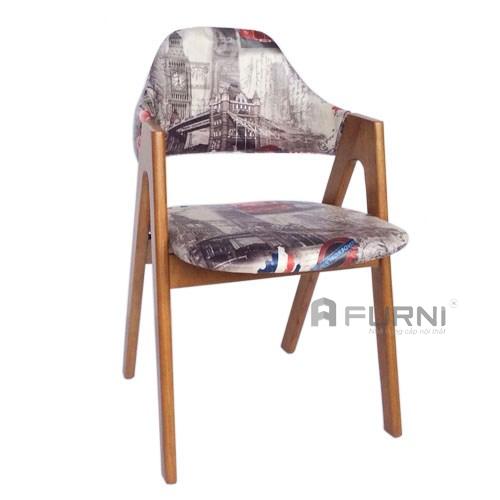 Ghế Gỗ Bọc Vải